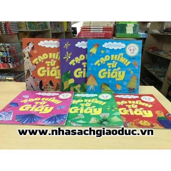 Sách - Tạo hình từ giấy - Dành cho trẻ 3-4, 4-5, 5-6 tuổi - 9960969 , 1247415773 , 322_1247415773 , 24000 , Sach-Tao-hinh-tu-giay-Danh-cho-tre-3-4-4-5-5-6-tuoi-322_1247415773 , shopee.vn , Sách - Tạo hình từ giấy - Dành cho trẻ 3-4, 4-5, 5-6 tuổi