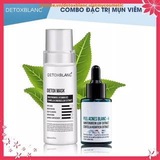 Bộ đôi loại bỏ mụn thâm Detox blanc (Detox Mask+Serum mụn mẫu H) thumbnail
