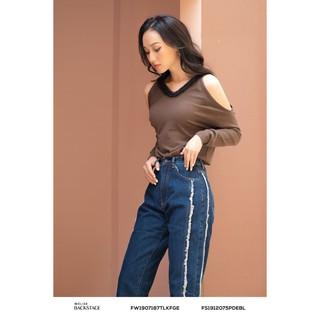 Áo len xanh phối cổ thiết kế Elise thumbnail