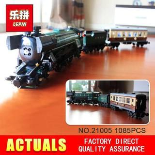 Lego Creator 10194 Technic Series Emerald Night Train Lepin 21005 Kinh Điển Bản Tàu Hỏa Trong Màn Đêm