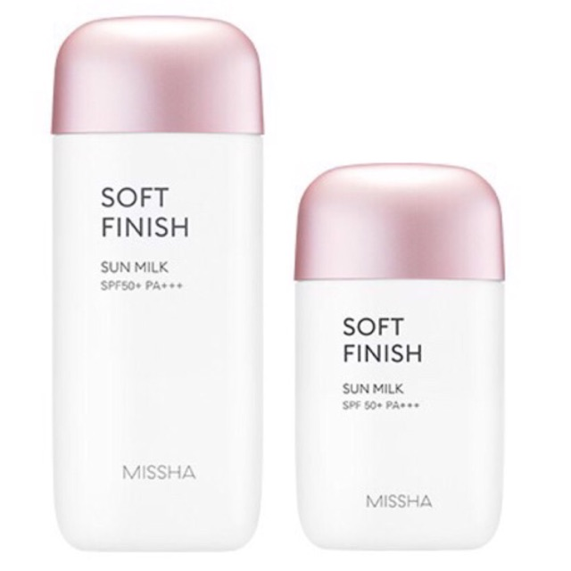 [HOT NEW 2018] Kem chống nắng MISSHA kiềm dầu, lên tone trắng hồng tự nhiên