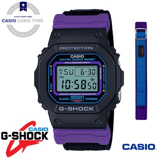 Đồng Hồ Nam Casio G Shock DW-5600THS-1 - Nam - Dây Vải - Chống Nước 200m - Tặng Dây Vải Cao Cấp - Bảo Hành 5 Năm thumbnail