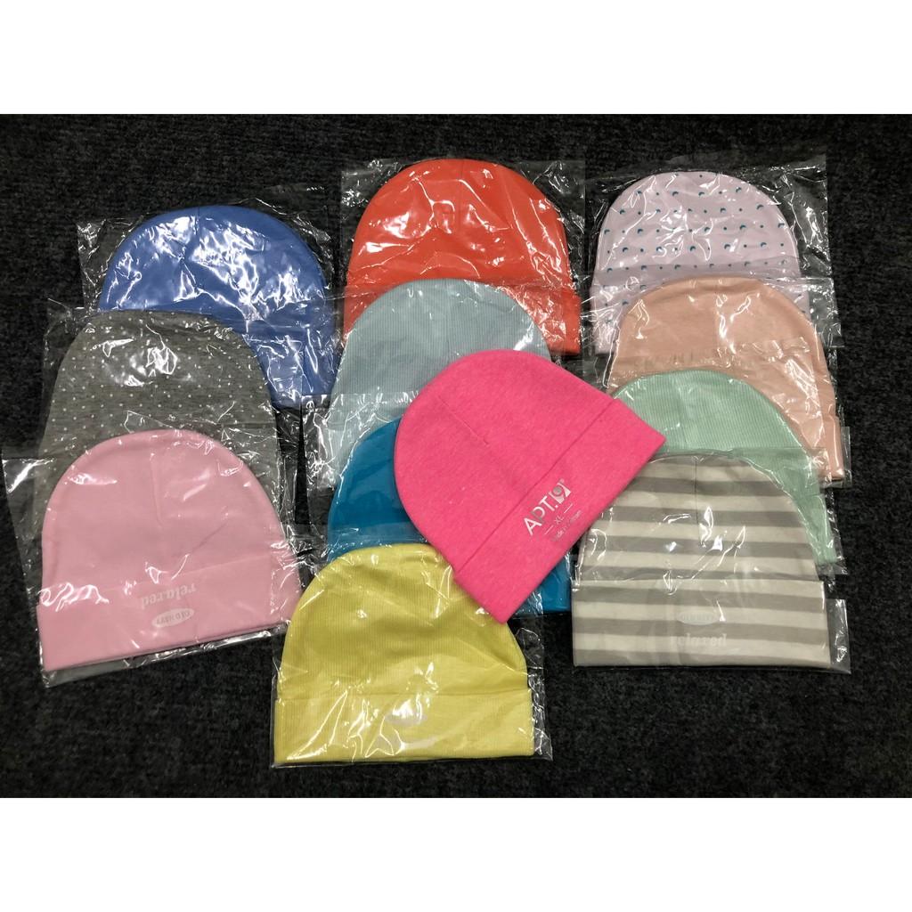 Nón / Mũ len giữ ấm che thóp bé sơ sinh dành cho bé trai bé gái