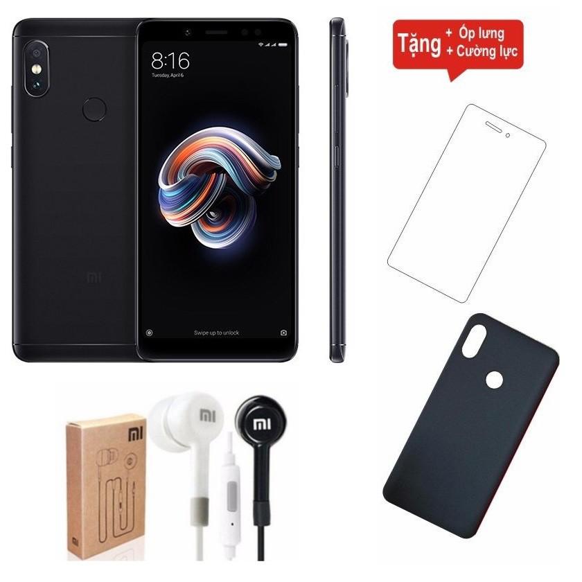 Combo Điện thoại Xiaomi Redmi Note 5 Pro 64GB Ram 6GB + Cường lực + Ốp lưng + Tai nghe Mi - Hàng nhậ - 2886701 , 1031202764 , 322_1031202764 , 5190000 , Combo-Dien-thoai-Xiaomi-Redmi-Note-5-Pro-64GB-Ram-6GB-Cuong-luc-Op-lung-Tai-nghe-Mi-Hang-nha-322_1031202764 , shopee.vn , Combo Điện thoại Xiaomi Redmi Note 5 Pro 64GB Ram 6GB + Cường lực + Ốp lưng +