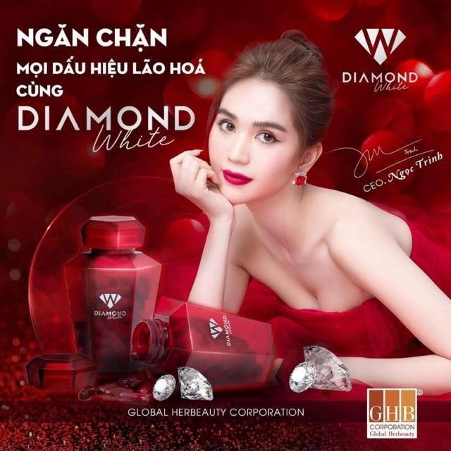 Viên uống trắng da Diamond White (chính hãng tem xoá) - 1h diamond tem cào