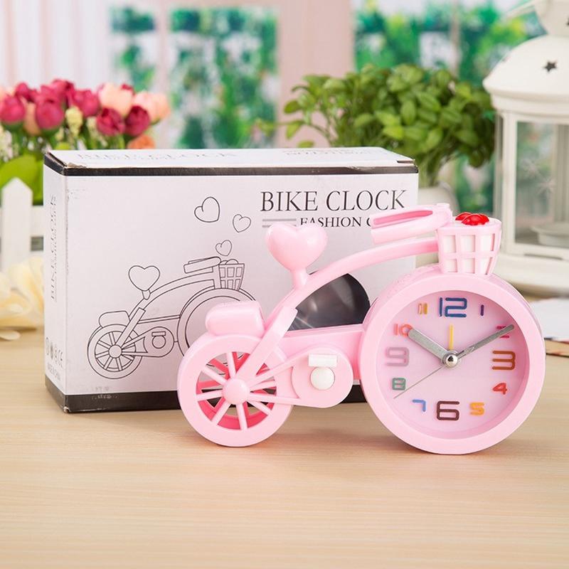 Đồng hồ báo thức hình xe đạp xinh xắn