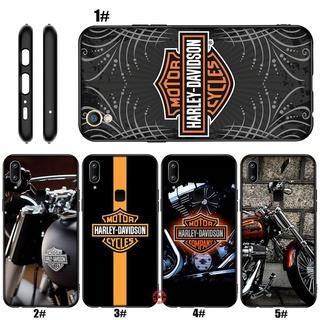 Ốp Điện Thoại Họa Tiết Harley Davidson Cho Vivo Y55 Y55S Y69 Y70 Y71 Y81 Y81S Y91 Y91C Y93 Y95 V20 SE Pro CP81