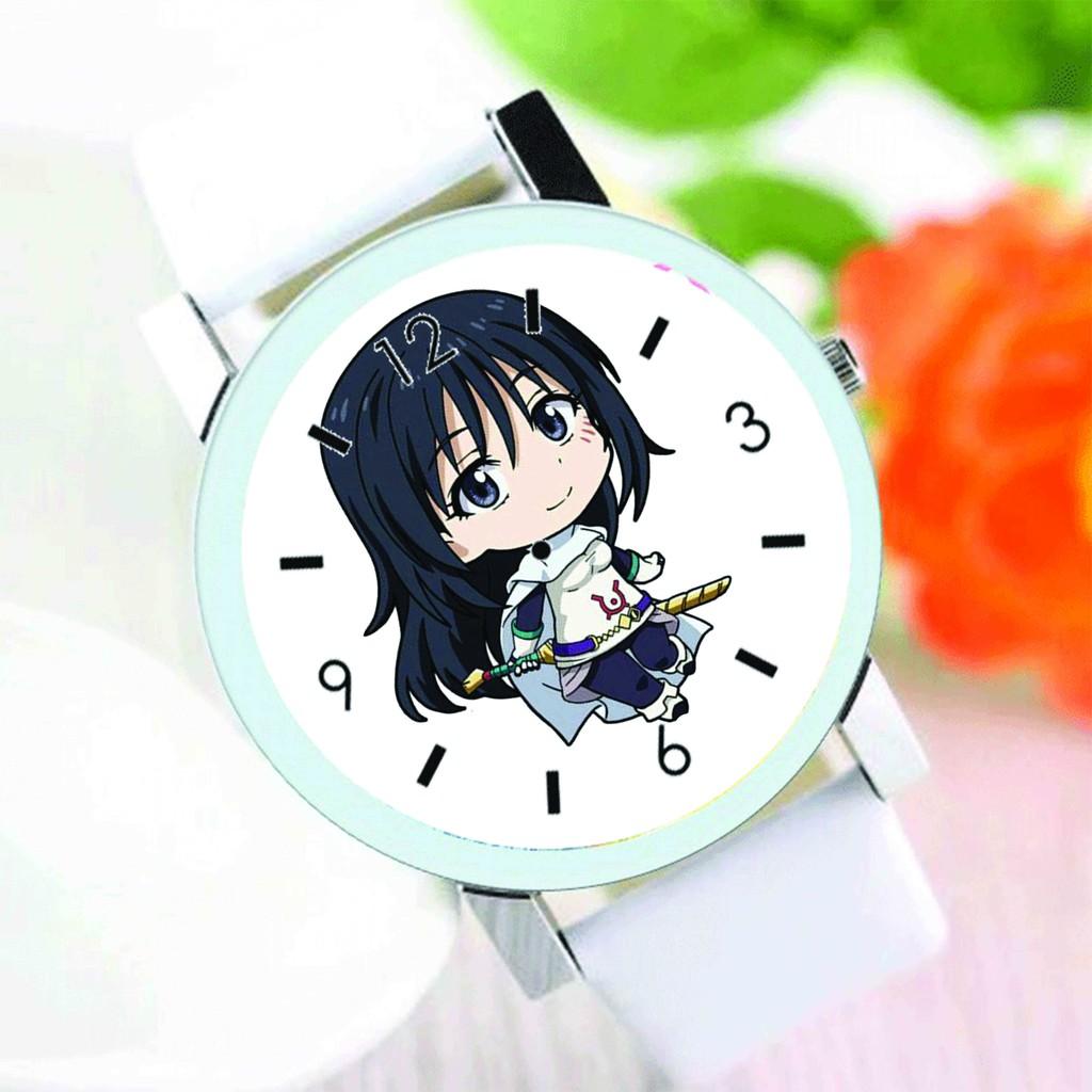 Đồng hồ đeo tay nam nữ in hình Tensei-shitara Slime datta Ken CHUYỂN SINH THÀNH SLIME anime chibi thời trang dễ thương