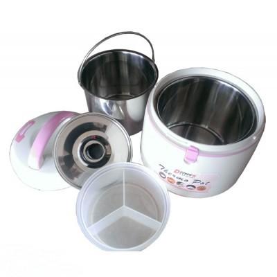 Nồi ủ đa năng Decker's Home 2.5 Lít P2000-25C (lòng trong inox)