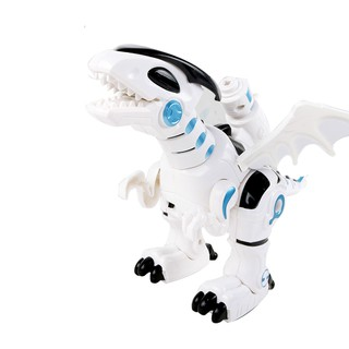 Dinosaur Pattern Light Sound Mechanical Puzzle Simulation Animal Model Control Electronic Walking Toy