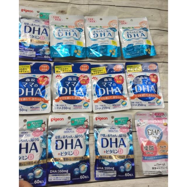 DHA bầu và cho con bú Nhật Bản nội địa