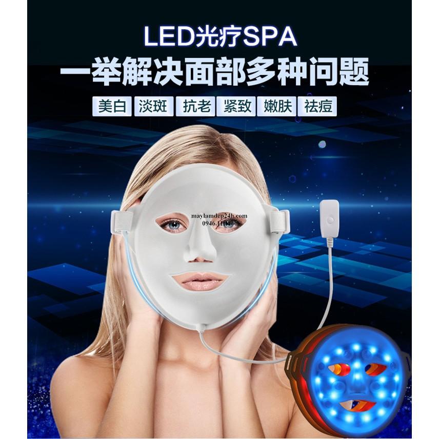 MẶT NẠ ÁNH SÁNG SINH HỌC có đá massage Iron Mask 3D