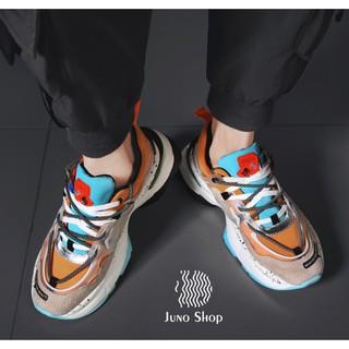 [FreeShip – Bản mới nhất] Giày thể thao nam xu hướng thu đông 2020, giày sneaker nam vải dệt cao cấp siêu nhẹ