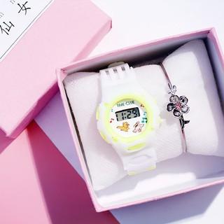 Đồng hồ thời trang trẻ em dây cao su DH81 giá rẻ tiện dụng