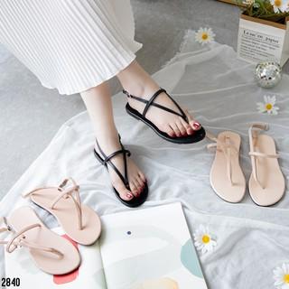 Giày Sandal Nữ quai kẹp thời trang MWC NUSD- 2840
