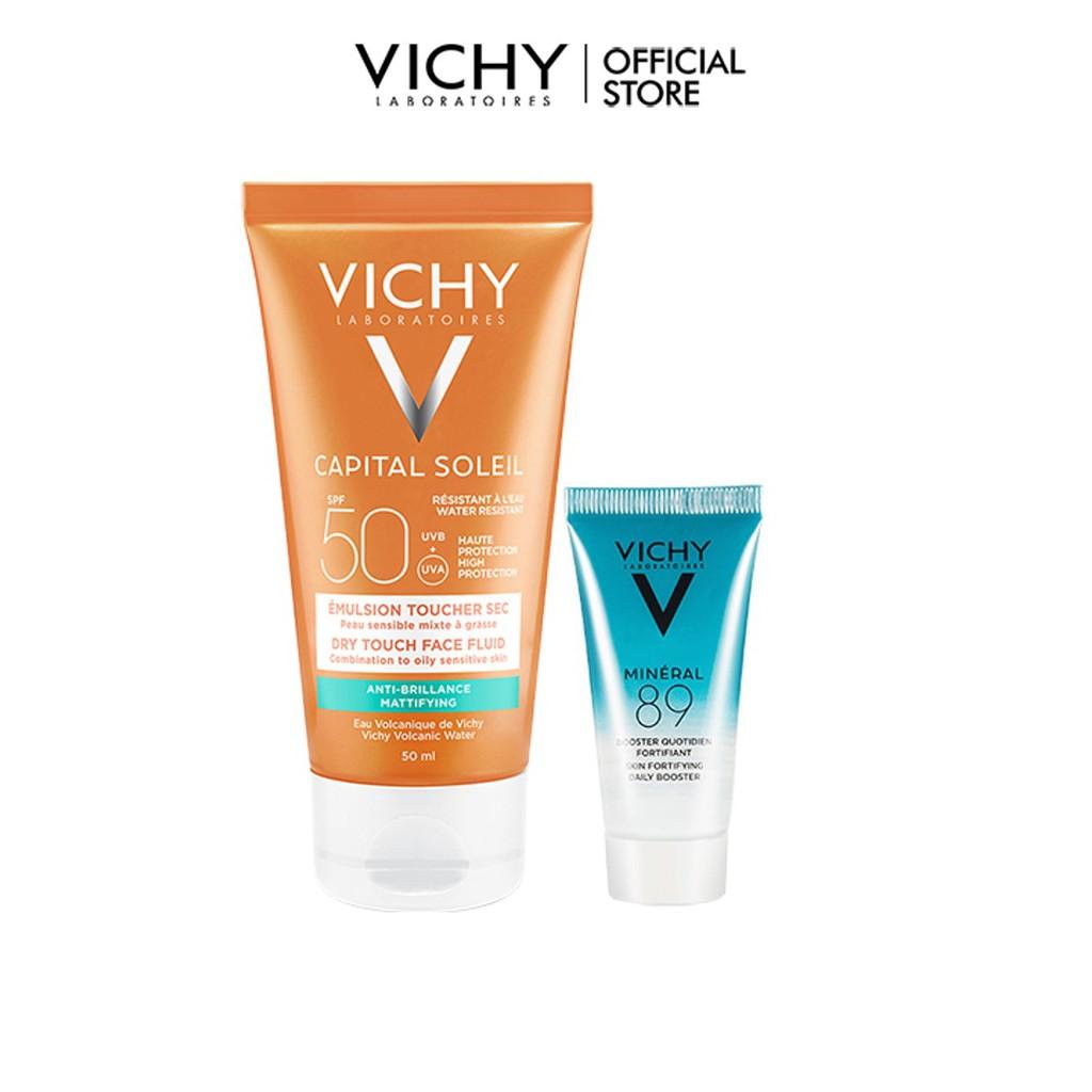 Bộ sản phẩm chống nắng & căng mượt da VICHY Capital Soleil Dry Touch VIC10 - HANNAH 7