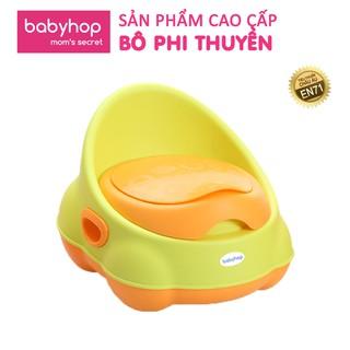 Bô vệ sinh trẻ em phi thuyền babyhop