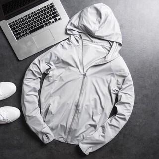 Áo Chống Nắng Nam Vải Kim Cương Chống Tia UV - Có Túi Đựng thumbnail