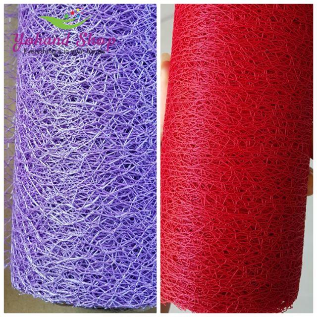 Giấy gói hoa - lưới nhện ( giá/50cm)