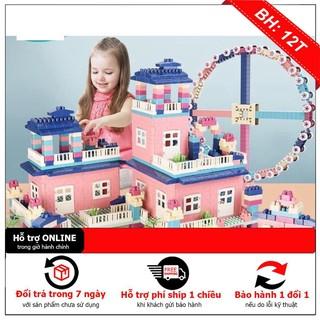 Bộ lego XẾP HÌNH City Building House 615 chi tiết và 364 chi tiết,NHỰA AN TOÀN hàng chính hãng đẹp