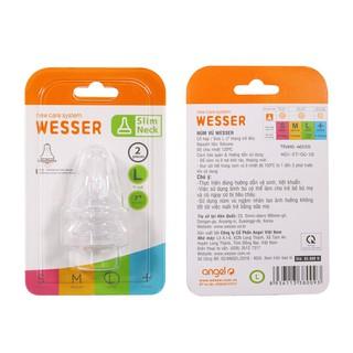 Núm vú Wesser Cổ hẹp size L
