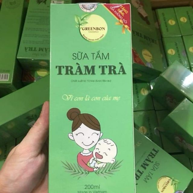 Sữa tắm tràm trà greenbon