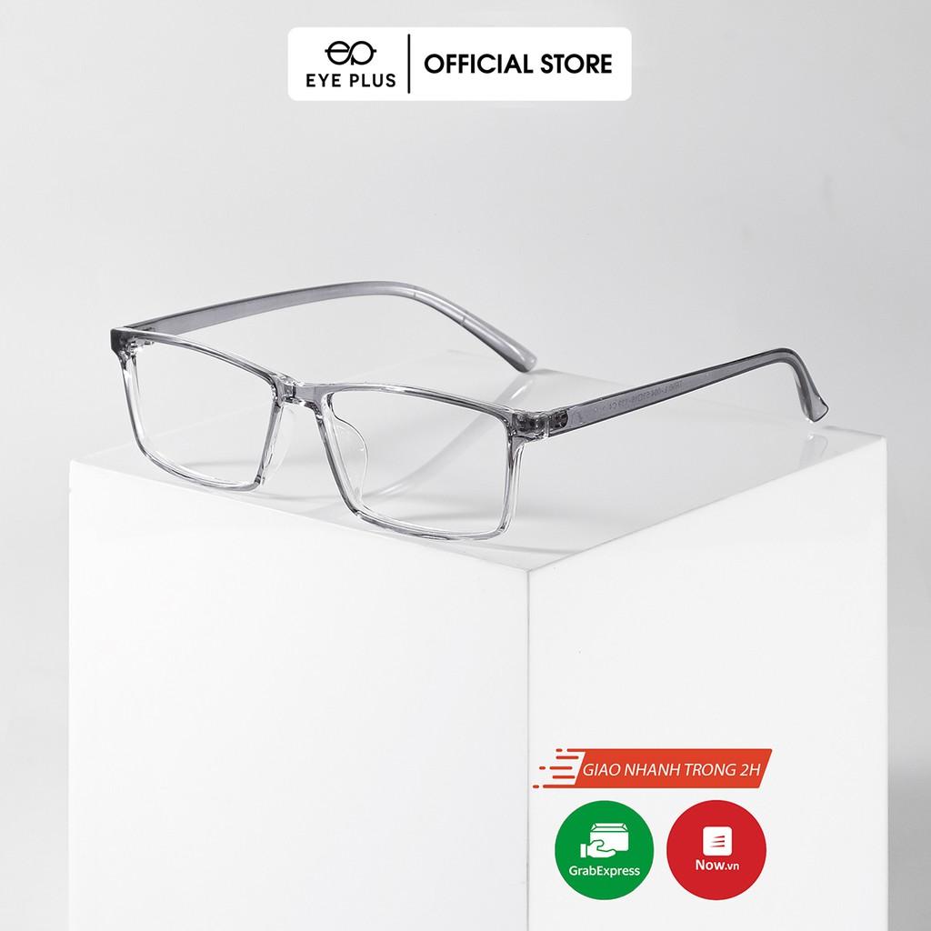 Gọng kính cận nam nữ thời trang EYE PLUS nhựa dẻo dáng vuông vừa phong cách hàn quốc N240-004