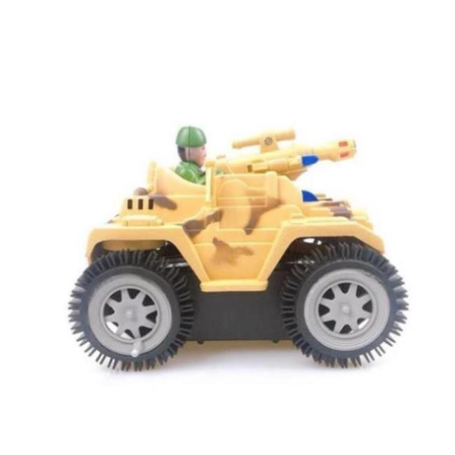 Đồ chơi mô hình xe tăng phát nhạc cho bé, đồ chơi cho bé thoả sức sáng tạo