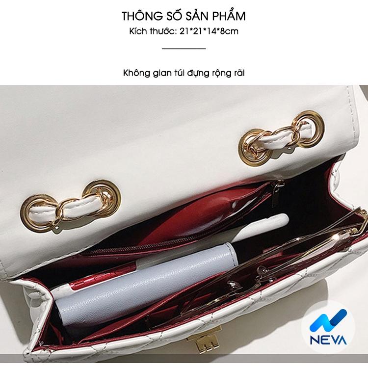 (HOT 2020) Túi Nữ trần trám phiên bản hàn quốc basic sang chảnh NEVA792