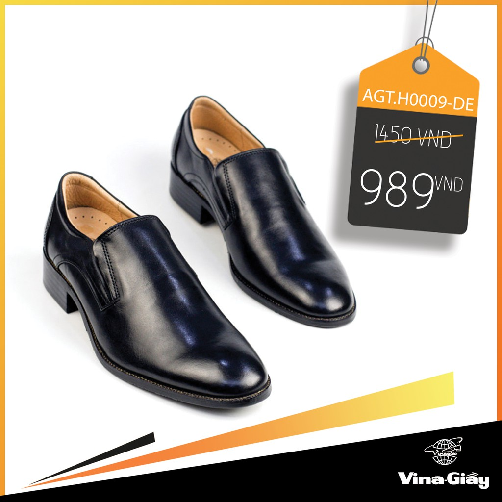 Giày tây nam Vina-Giầy AGT.H0009