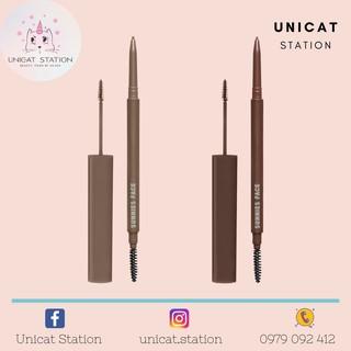Chì Kẻ Mày Mascara Lông Mày Set Lông Mày SUNNIES FACE Lifebrow Skinny Pencil Grooming Gel Duo Set thumbnail