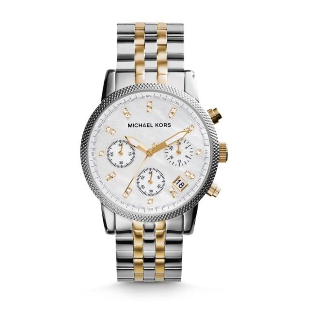 Michael Kors MK5057 Two-Tone Ritz Watch