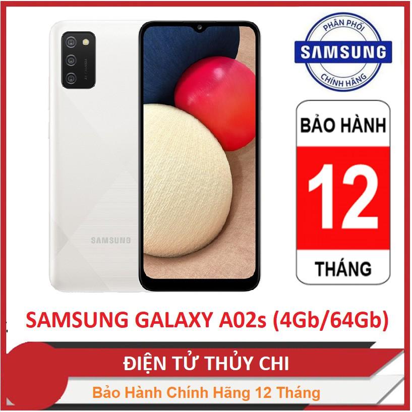 Điện thoại Samsung Galaxy A02s (4GB/64GB) - Hàng Chính Hãng Mới 100% !