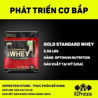 Optimum Nutrition Gold Standard 100% Whey Protein - Sữa tăng cơ bắp chất lượng (2.56kg) thumbnail