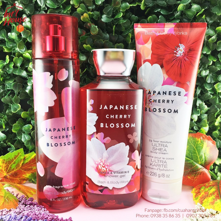 SET XỊT THƠM + GEL TẮM + KEM DƯỠNG THỂ BBW JAPANESE CHERRY BLOSSOM - 3104425 , 1023422354 , 322_1023422354 , 620000 , SET-XIT-THOM-GEL-TAM-KEM-DUONG-THE-BBW-JAPANESE-CHERRY-BLOSSOM-322_1023422354 , shopee.vn , SET XỊT THƠM + GEL TẮM + KEM DƯỠNG THỂ BBW JAPANESE CHERRY BLOSSOM