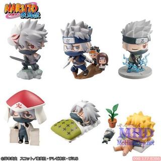 Bộ mô hình – Set Figure Chibi Kakashi – Naruto