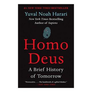 Sách Ngoại Văn Homo Deus ( Phiên bản Tiếng Anh - Khổ lớn) thumbnail