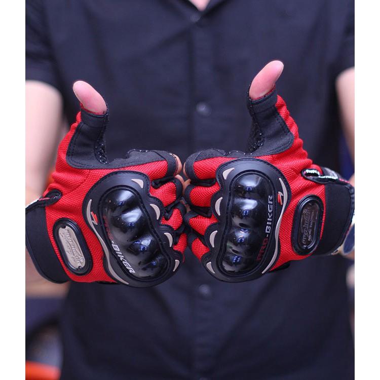 [RẺ VÔ ĐỊCH] ⚡ Găng tay hở ngón thể thao cho phượt thủ ⚡