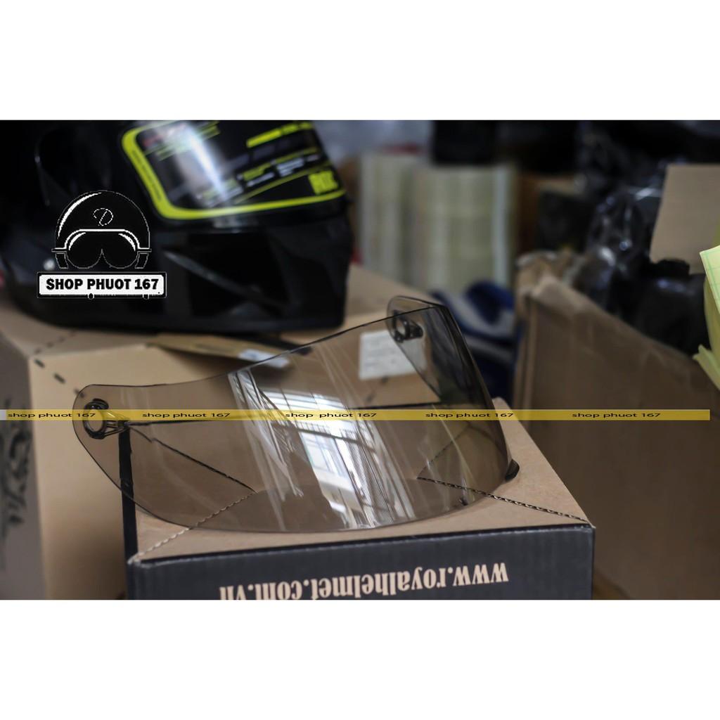 ( Kèm 1 Pinlock) Nón bảo hiểm ROYAL M138B 1 Kính Lên tem REPSOL + kèm túi đựng nón và hộp