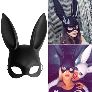 【FS】New Masquerade Bunny Rabbit Mask Adult Sexy Halloween Costume Accessory Prop