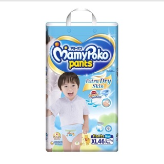 Tã quần mamypoko XL46 ( boy, girl) Date 2022