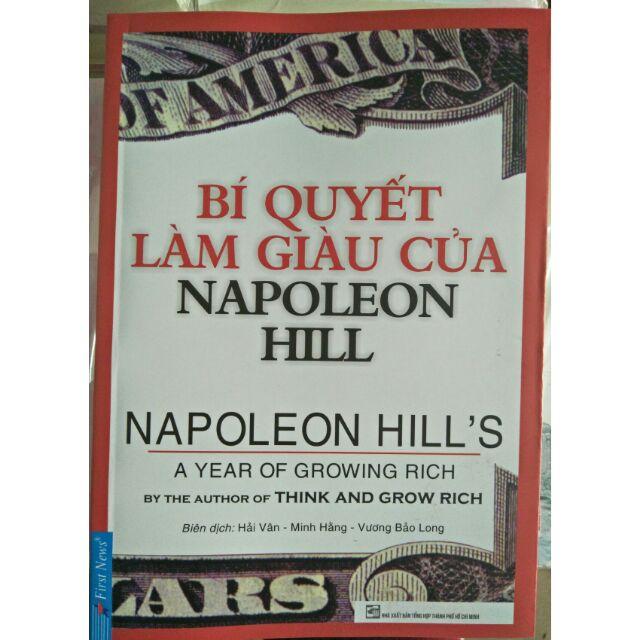 Sách : Bí quyết làm giàu của Napoleon Hill - 3290860 , 842698267 , 322_842698267 , 40000 , Sach-Bi-quyet-lam-giau-cua-Napoleon-Hill-322_842698267 , shopee.vn , Sách : Bí quyết làm giàu của Napoleon Hill