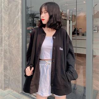 Áo khoác cardigan nữ chất vải thun nỉ thêu cún 4YOUNG FASHION thumbnail