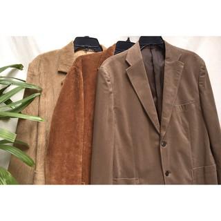 (Ship sau dịch) Blazer nhung tăm vintage hàng secondhand / corduroy jacket