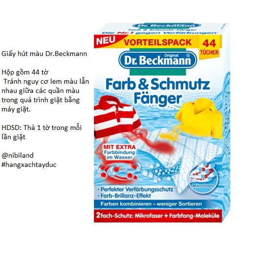 Giấy hút màu quần áo Dr.Beckmann
