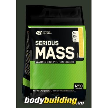 Sữa tăng cân ON Serious Mass 12 Lbs