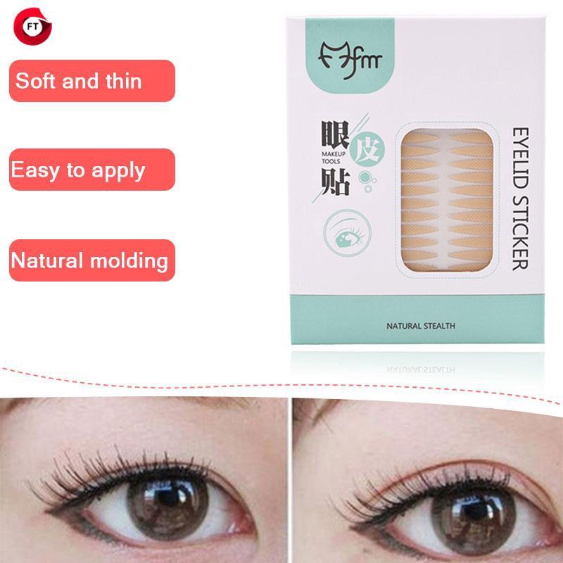 FT Fashion Double Eyelid Stickers Eye Makeup Net Shape - FT