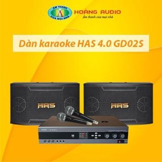 Bộ dàn karaoke gia đình HAS 4.0 GD02S thumbnail