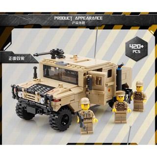 [SALE SML] Bộ Xếp Hình Quân Sự – Xe Hummer