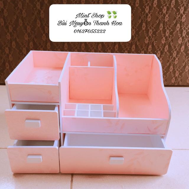 Khay đựng mỹ phẩm siêu to 35cm hồng phấn, khay đựng son, Khay đựng đồ trang điểm, tủ mini - 3417135 , 678154261 , 322_678154261 , 230000 , Khay-dung-my-pham-sieu-to-35cm-hong-phan-khay-dung-son-Khay-dung-do-trang-diem-tu-mini-322_678154261 , shopee.vn , Khay đựng mỹ phẩm siêu to 35cm hồng phấn, khay đựng son, Khay đựng đồ trang điểm, tủ min